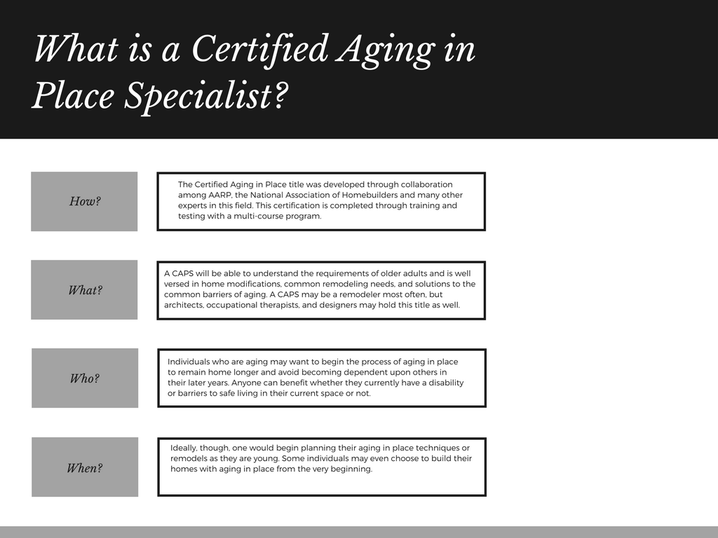 What Is A Certified Aging In Place Specialist Zack Rack