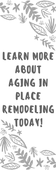Aging in Place Remodeling Graphic